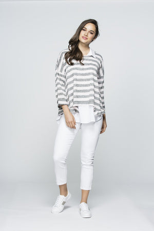 LAYERED STRIPE TOP 33501