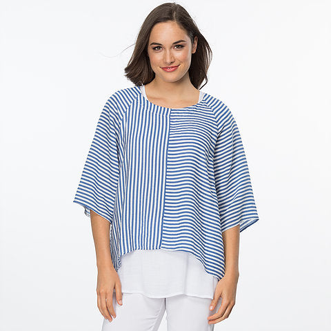 STRIPE LAYER TOP 34401