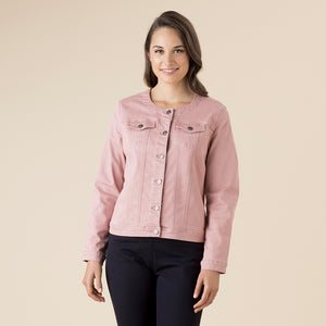 COLLARLESS JACKET 36603