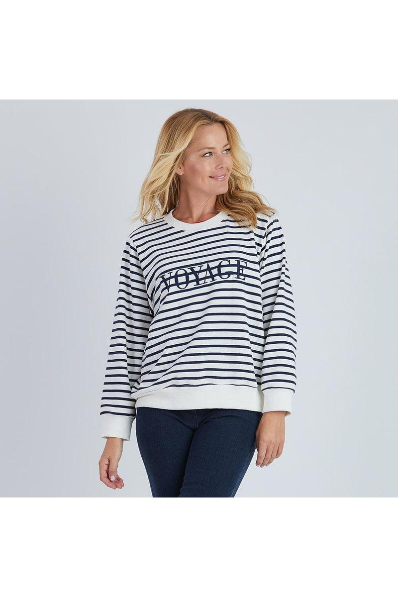 VOYAGE EMBROIDED SWEAT 38678