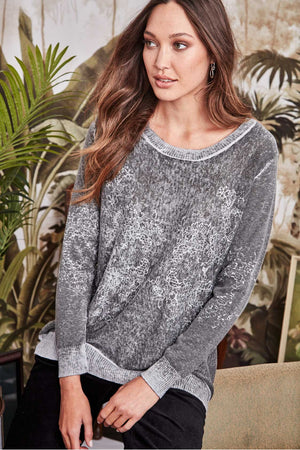 TRUE ROMANCE SWEATER 6372BR