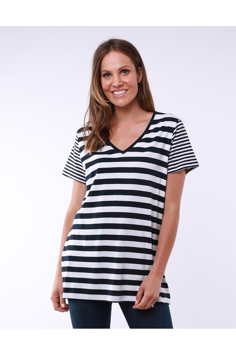 MOTION STRIPE TEE 8147015