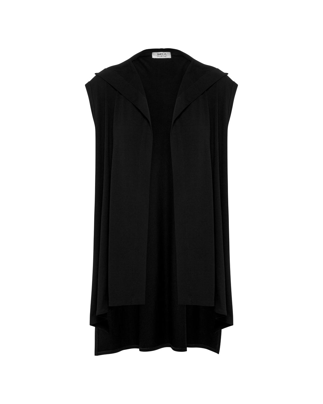 HOODED VEST F014957