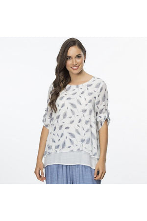 CLARITY LEAF LAYERED TOP 35399