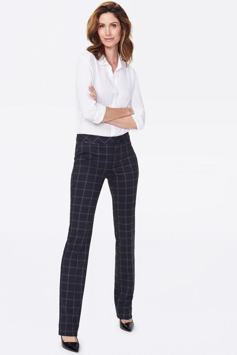 SLIM PONTE TROUSERS