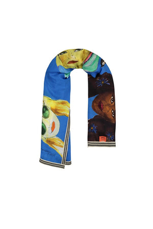 FESTIVAL FLOWERS SCARF SP6101