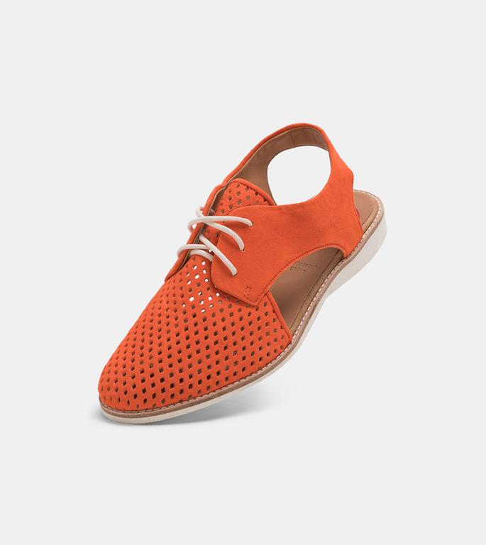 SLINGBACK PUNCH - CORAL