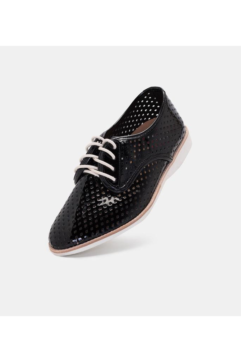 DERBY PUNCH - BLACK PATENT SC00030