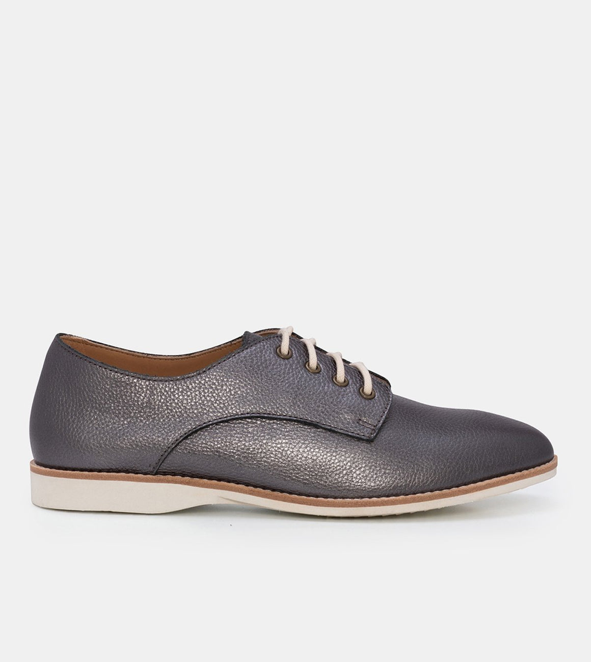 DERBY UNLINED PEWTER METALLIC SC00559