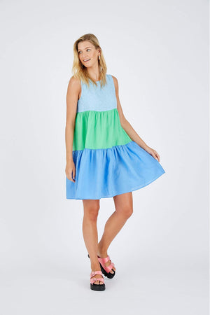 PICNIC SPLICE DRESS