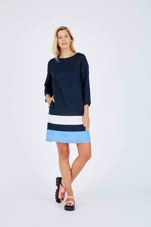 L/SLEEVE CONNIE DRESS