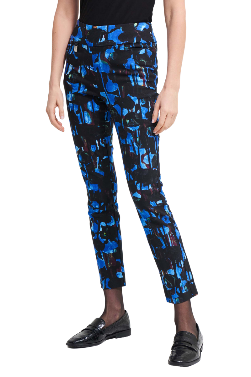 JOSEPH-RIBKOFF-PANT-ABSTRACT-PRINT-213297
