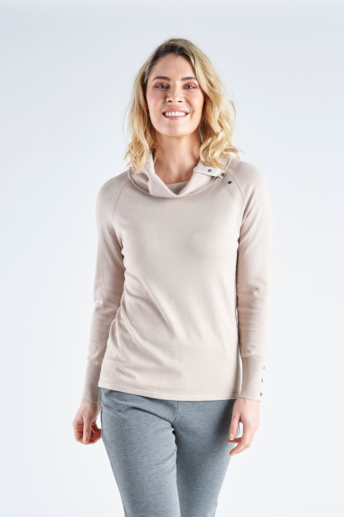 VISCOSE KNIT TOP V3950