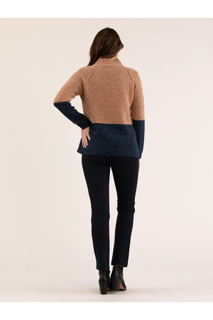 COLOUR BLOCK JUMPER YT20W7834