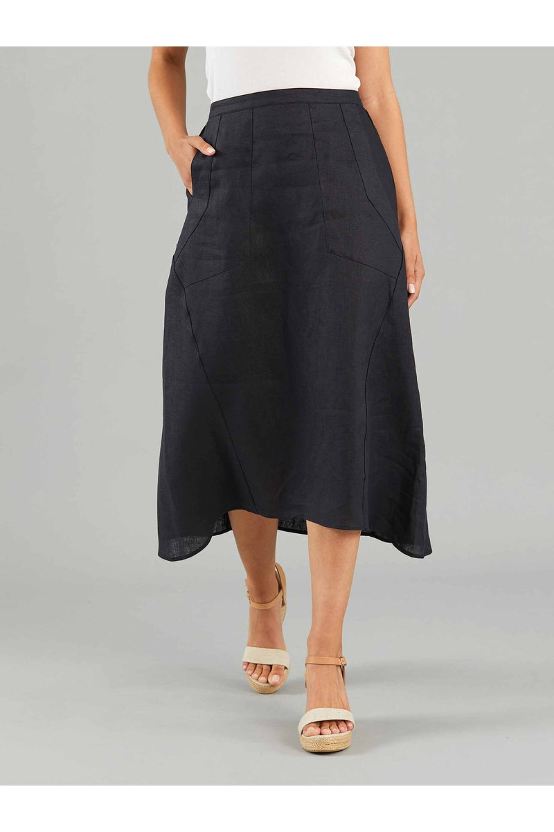 FLARED LINEN SKIRT YT21S9211
