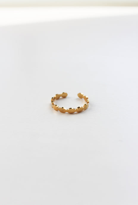 Dots Ring goud