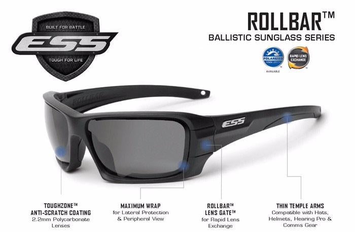 ESS Rollbar Ballistic Tactical Sunglasses