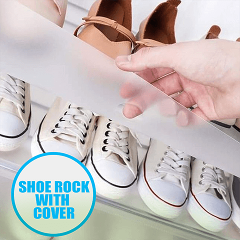 Trendy Multi Layer Shoe Organizer With Cover |Shoe Storage Organizer Tower | Modular Cabinet for Space Saving | Shoe Rack Ideal for shoes, boots, Slippers, Ideal for Entryway Hallway Bathroom Living Room