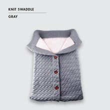 Load image into Gallery viewer, Knit Swaddle Wrap