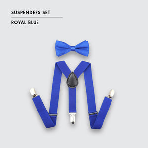 Toddler Suspenders and Bow Tie Set