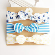 Load image into Gallery viewer, 3 Piece Baby Headbands