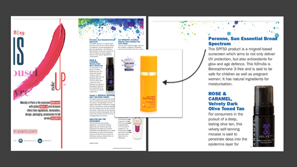 Pure Beauty Global Awards 2020 - Perenne Sunscreen Gel SPF 50+++