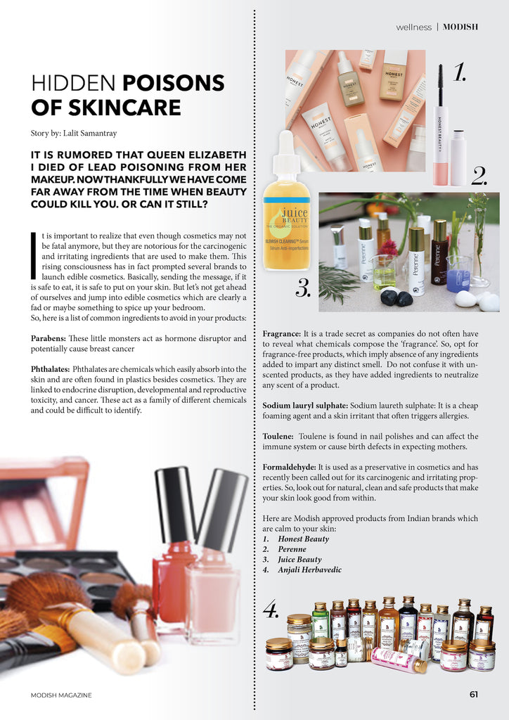 Modish Magazine _ PerenneCosmetics