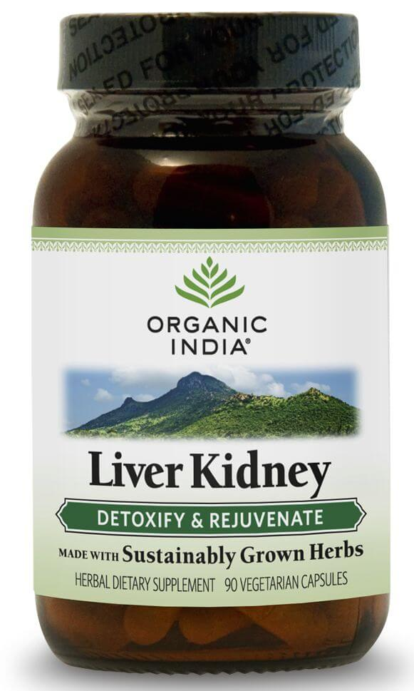 ORGANIC INDIA LIVER KIDNEY - 90 CAPSULES - tjuptjup