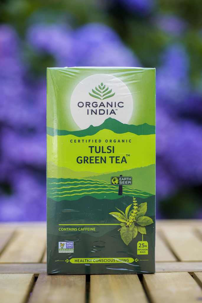 ORGANIC INDIA TULSI GREEN THEE - 25 ZAKJES - tjuptjup