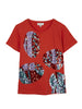 SEQUINNED CACTUS JERSEY TOP