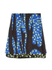 SEQUINNED CACTUS PRINT MINI SKIRT