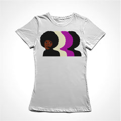 Camiseta Baby Look Angela Davis