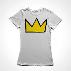 camiseta baby look basquiat
