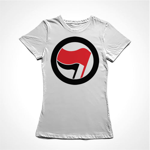 Camiseta Baby Look Ação Antifascista