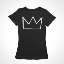 Load image into Gallery viewer, Camiseta Baby Look Basquiat