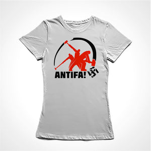 Camiseta Baby Look Antifa