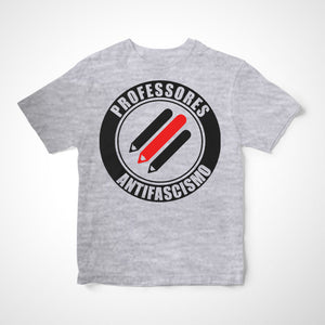 Camiseta Infantil Professores Antifascismo