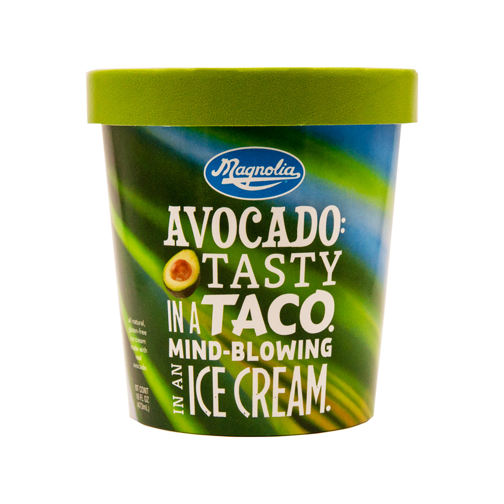 Magnolia All Natural Avocado Ice Cream