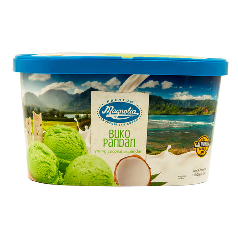 Magnolia Buko Pandan Ice Cream Tub