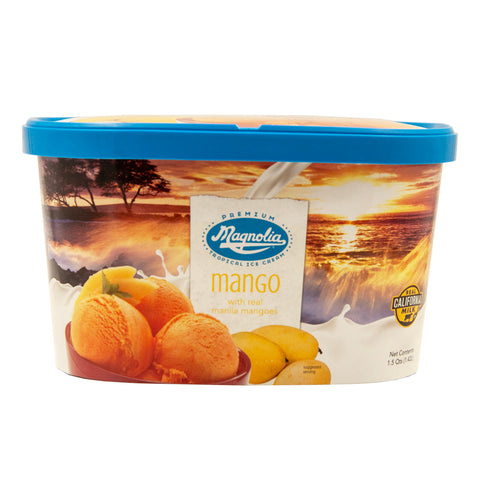 Magnolia Mango Ice Cream Tub