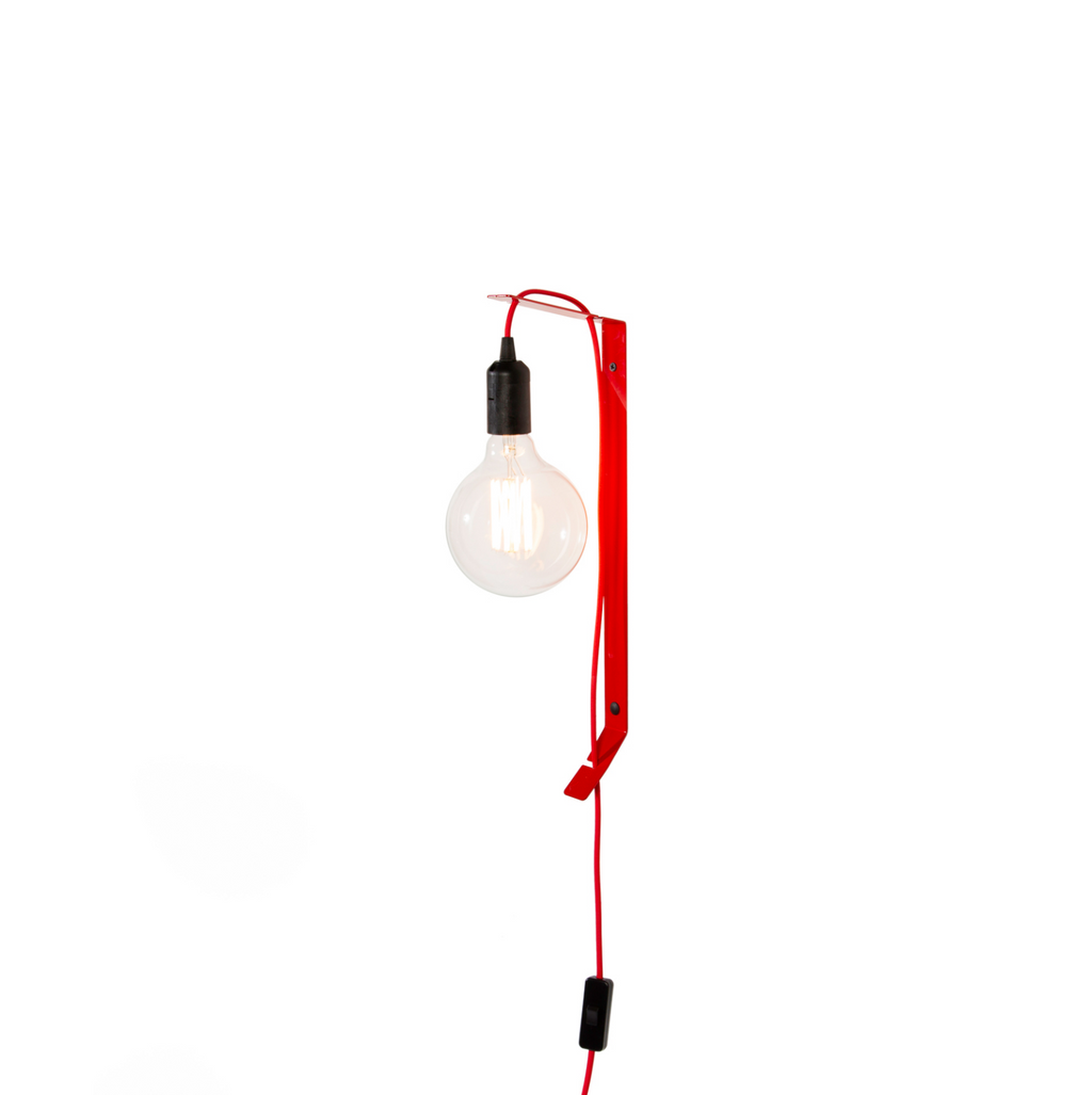 Flexi Wall Lamp - Red