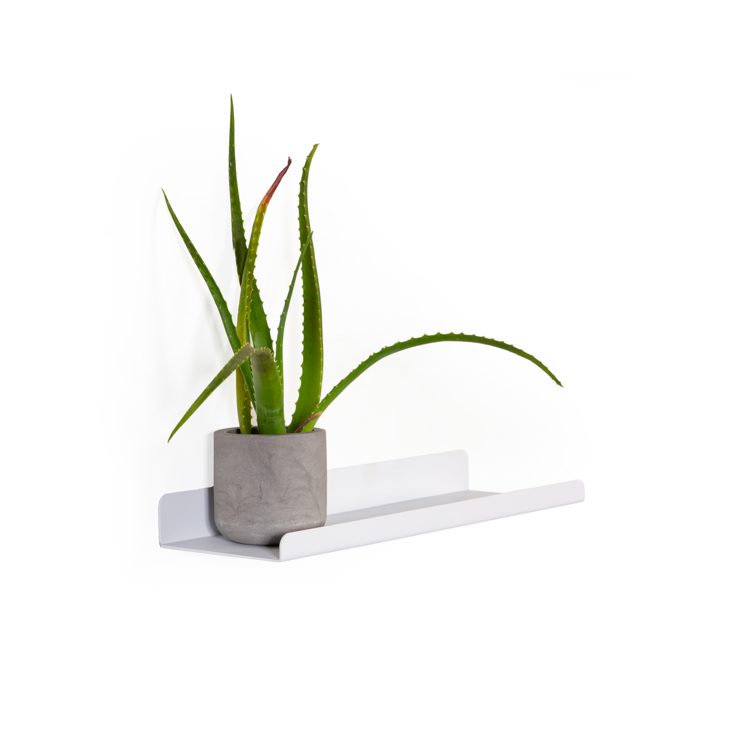 Lip Shelf Small 400 - White