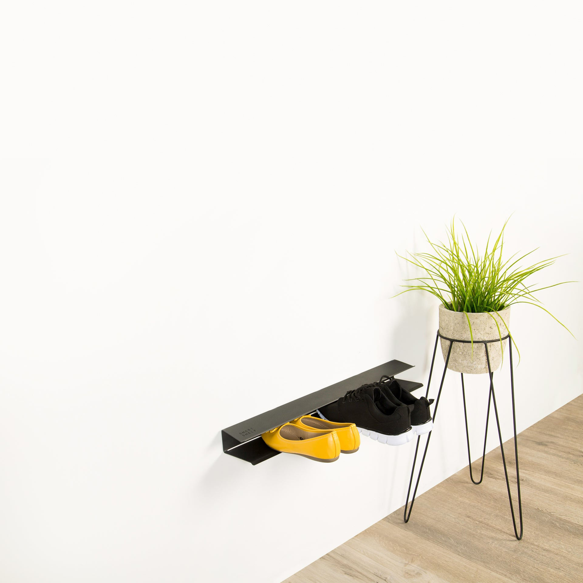 Wall Mounted Shoe Rack