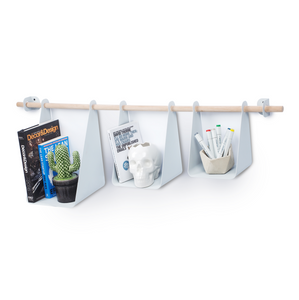 Trio Shelf - Light Grey