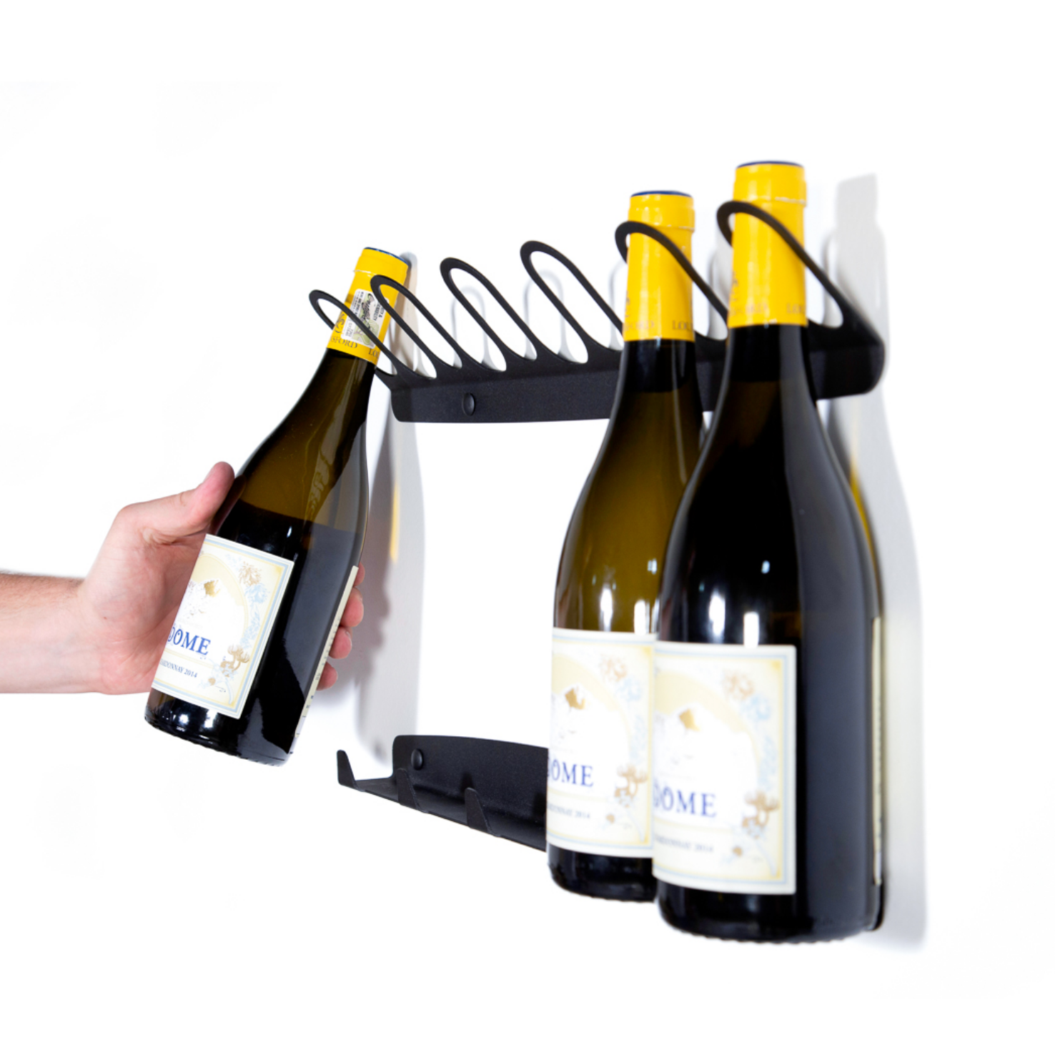 Two-Piece Wine Rack