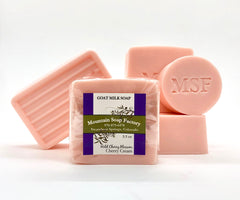 Cherry Cream       Goat Milk Soap