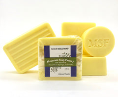 Lemon Cream        Goat Milk Soap
