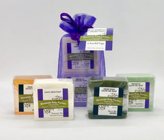 Gift Bag ~ 4 Bar Soap Sampler