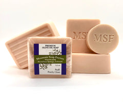 Peachy Clean Olive Oil Soap