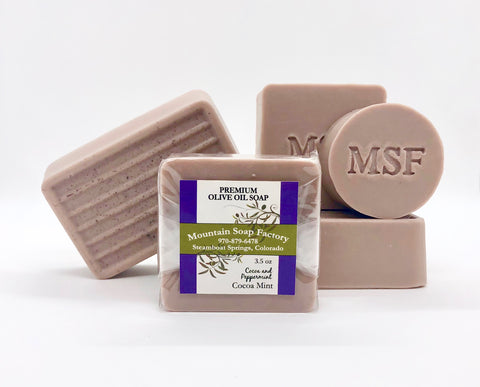 Cocoa Mint Olive Oil Soap